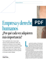 Empresa y Derechos Humanos