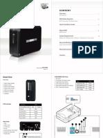 2-Bay RAID Enclosure With USB 3.0 & E-SATA
