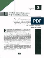Cap 2 La Salud Colectiva Como Responsabilidad Social Lectura 2