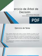 Ejercicio de Árbol de Decisión