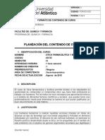 Carta Descriptiva Etica Farm. y Bioetica
