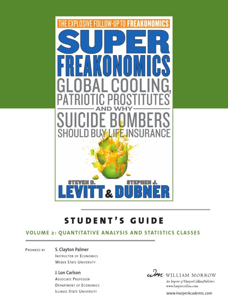 Superfreakonomics_Student_Vol2.pdf | Statistical Hypothesis Testing |  Statistics