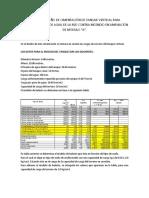 Analisís y Diseño de Cimentación de Tanque Vertical Para Almacenamiento de Agua de La Red Contra Incendio en Ampliación de Módulo