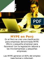Las Pymes en El Peru