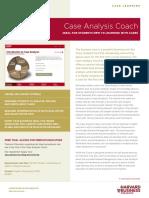 Case Analysis Coach