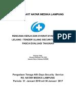 Tender RSNM Security