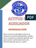 Actitud Del Auxiliador Psf