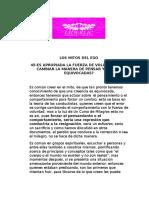 45-ES APROPIADA LA FUERZA DE VOLUNTAD PARA CAMBIAR LA MANERA DE PENSAR Y ACTUAR EQUIVOCADAS?