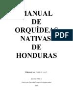Manual de Orquídeas Nativas de Honduras