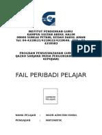 PANDUAN FAIL PERIBADI PELAJAR.doc