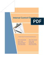 Internal Controls Checklist