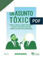 Un Asunto Tóxico (TTPIP & Disruptores Endocrinos)