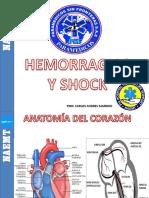 Hemorragias y Shock Psf