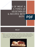 5 Types of Meat & 5 Types