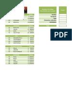 Ejercicio 3 Excel