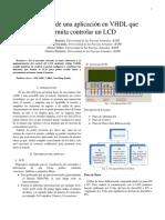 Funcionamiento LCD para FPGA