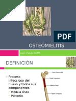 Osteomielitis.