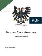 BSH Transcript Manual