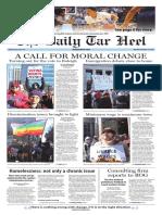 The Daily Tar Heel for Feb. 15, 2016