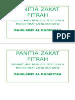 tia Zakat Fitrah