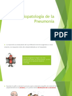 Fisiopatologia de Pneumonia