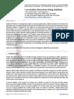 Survey Paper on Outlier Detection Using Antihub
