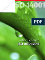 Introduction to Iso 14001-2015