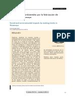 impactos socioambientales para la fabricacion de ladrillos