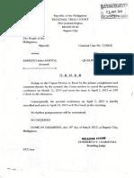 Order Crminal Case 32306-r 21mar2013