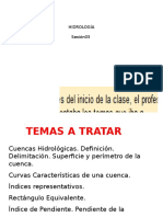 Hidrologia - cuencas