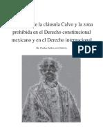 Evolución de La Cláusula Calvo