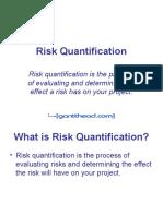 Risk Quantification