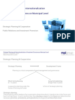 Strategic Planning and Internaliazationa of Investments