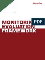 Monitoring & Evaluation Framework - Fiinovation
