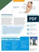 MA Mathematics v1