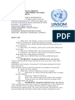 UNSOM HOLDS AWARDS CEREMONY FOR UNIFORMED OFFICERS SERVING IN SOMALIA