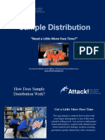 Promotional Sampling Case Study