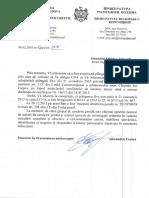 Raspunsul CNA referitor la functionarii din cadrul primariei mun. Chisinau