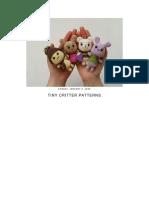 Tiny Critter Patterns