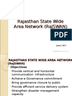 Rajasthan State Wide Area Network Rajswan