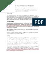 LLax Procedures - Proposed Changes 4-5-10