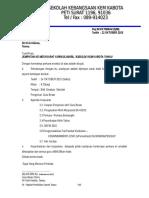 Surat Jemputan Mesyuarat Kurikulum Bil.5 2015