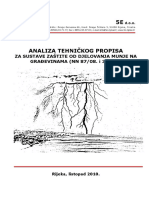 Analiza Tehničkog Propisa Za Susutave Zaštitie Od Djelovanja Munje Na Građevinama