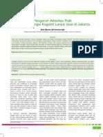 Pengaruh Aktivitas Fisik Terhadap Fungsi Kognitif Lanjut Usia Di Jakarta (2)