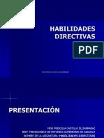 Habilidades Directivas Unid 1