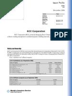 KCC Corporation20061214