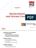 Chap 1 Declarations and Acces Control Update