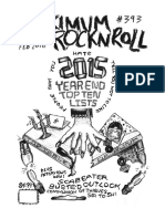 Maximumrocknroll February 2016  346ab0f264