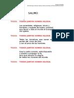 SALMO 33 Domingo Ordinario-15!11!2015