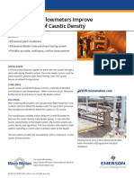 caustic measurment